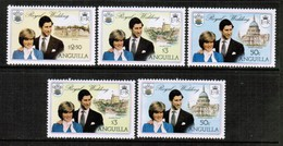 ANGUILLA  Scott # 444-6 Inc. 444b** VF MINT NH (Stamp Scan # 461) - Anguilla (1968-...)