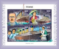 Niger 2018  Titanic  S201901 - Niger (1960-...)