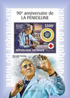 Niger 2018 Penicillin  ,Alexander Fleming  S201901 - Niger (1960-...)