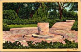 New York Rochester Eastman Memorial In Kodak Park 1945 Curteich - Rochester