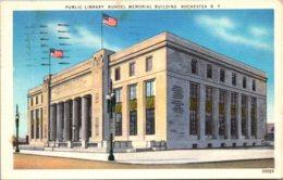 New York Rochester Public Library Rundel Memorial Building 1953 - Rochester