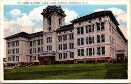 New York Buffalo New Masten High School 1933 - Buffalo