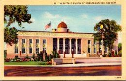 New York Buffalo Museum Of Science 1944 Curteich - Buffalo