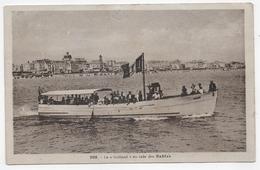 "(RECTO / VERSO) LES SABLES - N° 208 - LE ""GOELAND"" EN RADE DES SABLES - CPA VOYAGEE - Sables D'Olonne"
