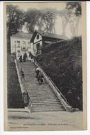 62 - MONTREUIL Sur MER - L'Escalier De La Gare - Animée (T148) - Montreuil