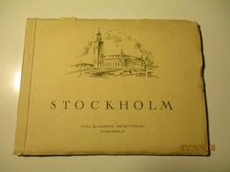 SWEDEN STOCKHOLM , AXEL ELIASSON , OLD PHOTO ALBUM ,0 - Boeken, Tijdschriften, Stripverhalen