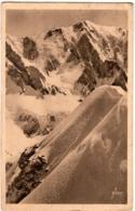 3ΩΧ 1O38. CHAMONIX MONT BLANC - GLACIER DE TRE LA TETE SUR L' ARETE DE MIAGE - Chamonix-Mont-Blanc
