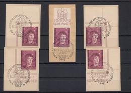 GG Generalgouvernement MiNr. 104 Gestempelt, Alle Ecken, Oberrand - Besetzungen 1938-45