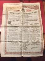 EMPRUNT  De  L' ÉTAT   BULGARE  4 1/2% OR  1907 ------Obligation - Non Classés