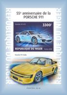 Niger 2018 Porsche Cars  S201901 - Niger (1960-...)