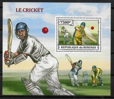 BURUNDI    BF 378  * *  ( Cote 17e ) Cricket - Cricket