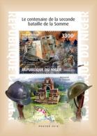 Niger 2018   Second Battle Of Somme ,World War I  S201901 - Niger (1960-...)
