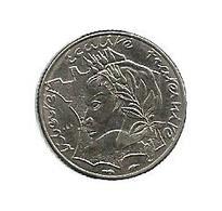 Monnaie , 1986 , 10 Francs Jimenez, Variété ; La Pointe De La Bretagne Touche Le Listel , 3 Scans - France