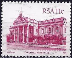 South Africa 1984 - Mi 646 - YT 551 ( Kimberley City Hall ) - Afrique Du Sud (1961-...)
