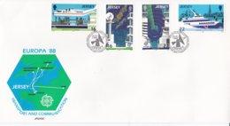Jersey 1988 FDC Europa CEPT (NB**LAR6-9) - Europa-CEPT