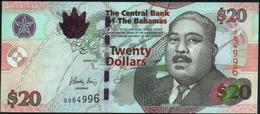 BAHAMAS - 20 Dollars 2010 {Printer: Giesecke & Devrient ~ Germany} UNC P.74 A - Bahamas