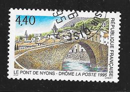 FRANCE 2956 Le Pont De Nyons Drôme - Oblitérés