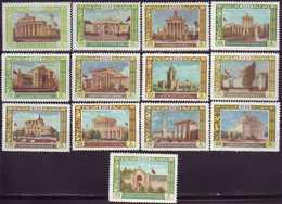 ROSSIA - RUSSIA - Mi. 1809/21  EXHIBITION  MOSCOW  ARCHITECTURE - **MNH - 1956 - Ongebruikt