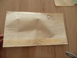 Pièce Velin Signée 1766 Compagnie Archers De Paris J.P.Maurice  état Service Démission Et Passage Relais à Son Neveu 22X - Documents