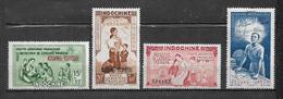 PA Du Kouang Tchéou  De 1942  N°1 A 4 Neufs * Belle Gomme - Kouang-Tcheou (1906-1945)
