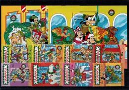 MWD-121114-31 MINT PF/MNH ¤ DOMINICA 1991 (KOMPL. SET)   ¤ THE WORLD OF WALT DISNEY -- FRIENDS OF WALT DISNEY - Disney