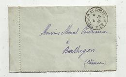 Lettre , 1915 , TRESOR ET POSTES ,26  , 2 Scans - 1877-1920: Période Semi Moderne