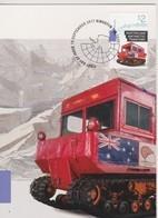 Australian Antarctic Territory 2017, Restored Weasel M29 Over Snow Vehicle, Maximum Card - Maximum Cards