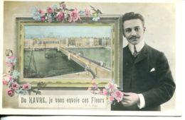 N°70837 -cpa Le Havre -je Vous Envoie Ces Fleurs- - Autres