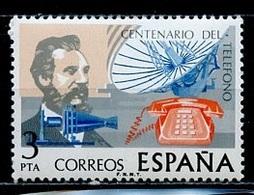 Espagne - Spain - Spanien 1976 Y&T N°1957 - Michel N°2204 *** - 3p G Bell - 1971-80 Nuovi