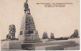 Cp , MILITARIA , BEAUMONT-HAMEL , Parc Commémoratif Terreneuvien, 51e Division , Monument Ecossais - War Memorials