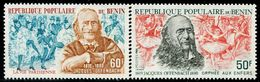 BN1955 Benin 1980 Offenbach And Ballet 2V Engraved Edition MNH - Persönlichkeiten