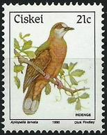 Ciskei 1990 - Mi 174 - YT 174 ( Bird : Lemon Dove ) MNH** - Ciskei