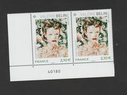 "FRANCE / 2019 / Y&T N° 5301 ** : ""Photographe Contemporain"" (Valérie Belin) X 2 CdF Inf G  - Gomme D'origine - Unused Stamps"