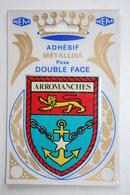 14 : Adhésif Métallisé - Arromanches  ( Blason ) - Arromanches