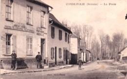 80 -  Somme - CONDE FOLIE -   La Poste - Frankrijk