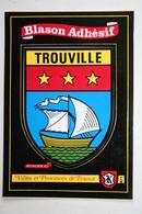 14 : Trouville - Blason Adhésif - Trouville