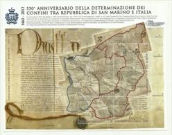 2013 - San Marino BF 127 Confini - Storia