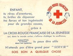 Croix Rouge Francaise De La Jeunesse-publicité D'adhesion-28 Rue De Lille La Bassée - Publicités