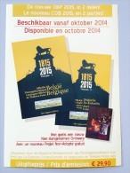 Belgische Catalogus 2015 NIEUW !!! Normale Prijs 30 Euro - Belgique