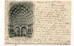 CPA  51 : REIMS Cathédrale 1899  VOIR  DESCRIPTIF §§§ - Reims
