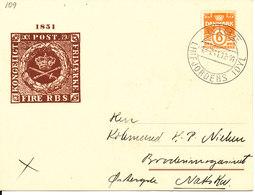 Denmark Card 1-7-1941 NIBE Limfjordens Idyl Sent To Nakskov - 1913-47 (Christian X)