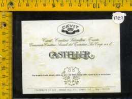 Etichetta Vino Liquore Casteller Càvit - Trento - Etichette