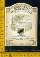 Etichetta Vino Liquore Sudtiroler Graubernatsch St. Magdalena - BZ - Etichette