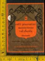 Etichetta Vino Liquore Monterosso Val D'Arda F. Montesissa-Travazzano Di Carpaneto - Etichette
