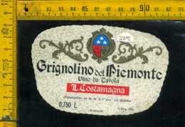Etichetta Vino Liquore Grignolino Del Piemonte L. Costamagna - La Morra CN - Etichette