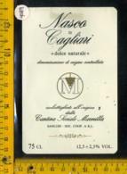 Etichetta Vino Liquore Nasco Di Cagliari - Sanluri Sardegna - Etichette