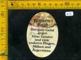 Etichetta Vino Liquore Himbeer-Geist  - Germania - Etichette