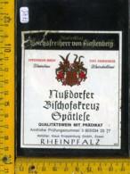 Etichetta Vino Liquore Spatlese 1976 - Germania - Etichette