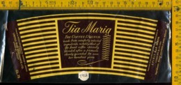 Etichetta Vino Liquore Tia Maria The Coffee Liqueur - Jamaica - Etichette