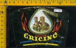 Etichetta Vino Liquore Ericino C. Adragna - Trapani - Etichette